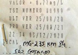 Crime Rotineiro: Novo motorista é preso na MG-235 por embriaguez ao volante