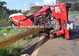 Grave acidente mata bebê e criança na BR-365 em Patos de Minas