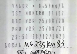 Mais um: Motorista de 43 anos é preso por embriaguez ao volante na MG-235 em São Gotardo
