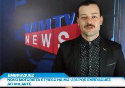 Motorista preso por embriaguez, Estrela de Belém  e Concurso de Natal CDL: Confira as notícias do SG NEWS desta terça-feira (08)