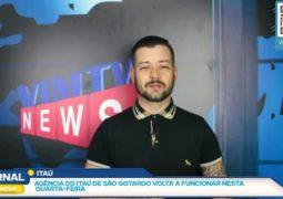 """""""Banco volta a funcionar"""", """"Gatinha desaparecida"""" e """"Vacina no Brasil"""": Assista o SG NEWS desta quarta-feira (30)"""