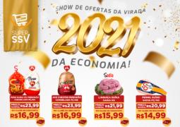 VIRADA DE ANO: Super SSV (antigo São Vicente) seleciona produtos incríveis em última promoção do ano de 2020 em São Gotardo