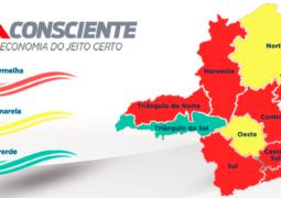 Macrorregião Noroeste, a qual São Gotardo pertence, regride para a ONDA VERMELHA no Programa Minas Consciente