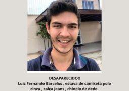 Jovem de Rio Paranaíba desaparece em Patos de Minas e família pede ajuda para encontrá-lo