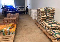 """""""Operação Agro"""": PC e PRF apreendem defensivos agrícolas e sementes"""