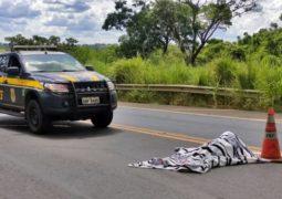 Motorista tenta desviar, mas pedestre é atingido por carreta na BR-365 e morre em Patos de Minas
