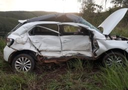 Engenheiro Civil morre em acidente na MGC-354 entre Lagamar e Vazante