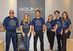 Internet GIGA: GOLDNET TELECOM inaugura unidade em Carmo do Paranaíba-MG