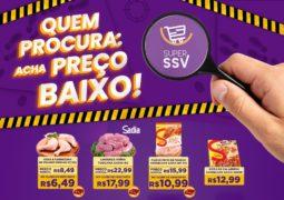 """Promoção """"Quem procura: acha PREÇO baixo"""" Super SSV em São Gotardo (antigo São Vicente)"""