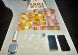 SEMANA CHEIA: PM realiza prisões e apreensões pelo crime de tráfico de drogas em São Gotardo