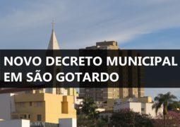 Prefeitura divulga novo Decreto com ajustes de flexibilizações para Comércio não Essencial e Delivery em São Gotardo