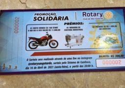 Em prol do Programa Banco Cadeira de Rodas, Rotary Club São Gotardo lança rifa de Moto 0 KM