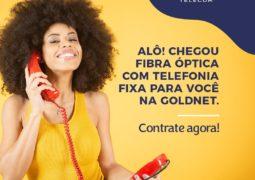GOLDNET TELECOM passa oferecer serviço de telefonia fixa digital em São Gotardo