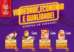 Fim de semana com variedade, economia e qualidade: Confira o Caderno de Ofertas do Super SSV em São Gotardo