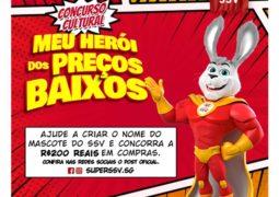 CONCURSO CULTURAL: Escolha o nome do mascote do Supermercado Super SSV e ganhe 200,00 reais!