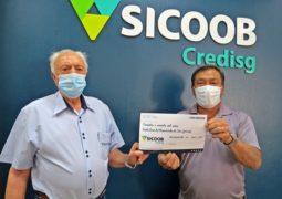 Sicoob Credisg realiza doação de 390 mil reais para obras da Santa Casa de Misericórdia de São Gotardo