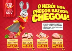 Herói dos preços baixos: Super SSV lança promoção jamais vista em São Gotardo