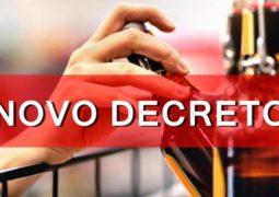 NOVO DECRETO: Venda de bebidas alcoólicas é autorizada durante os finais de semana em São Gotardo
