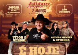 Em prol do Abrigo Lar Renascer de São Gotado, Edidany Barbosa realiza Live Solidária neste sábado!