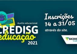 Com novidades, Sicoob Credisg lança Programa Auxílio Educacional 2021 em São Gotardo