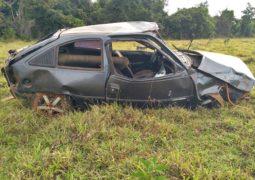 Homem de 47 anos morre em grave acidente na MG-230 em Rio Paranaíba