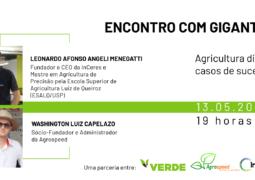 ENCONTRO COM GIGANTES: Saiba como a agricultura digital pode melhor a produtividade da lavoura