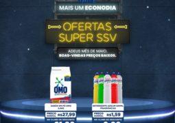 ECONODIA: Super SSV lança promoções imperdíveis somente nesta segunda-feira (31/05) em São Gotardo