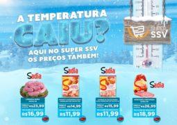 TEMPO FRIO, PREÇO BAIXO: Confira o Caderno de Ofertas deste mês de Maio do Super SSV em São Gotardo