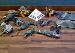 Polícia Militar de São Gotardo prende autor de furto de ferramentas elétricas