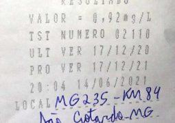 Operação Rota Segura: Homem é preso por dirigir com sintomas de embriaguez na MG-235 em São Gotardo