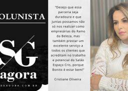 Colunista Cristiane Oliveira: Vem novidade por aí São Gotardo e Região!