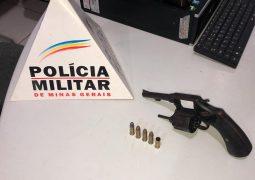 PM prende homem com arma de fogo em Guarda dos Ferreiros