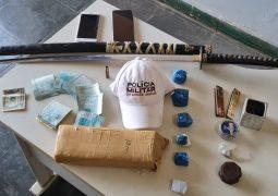 Operação Rota Segura: PMR localiza drogas e dinheiro e duas pessoas são presas na MG-235 em São Gotardo