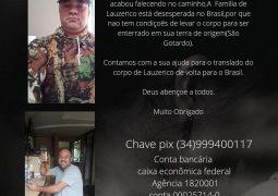 Família de São-Gotardense que faleceu enquanto tentava ir para o Estados Unidos pede ajuda para realizar translado funerário