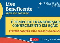 CLIQUE E ASSISTA: Live 7 Anos Portal SG AGORA em prol da APAE de São Gotardo