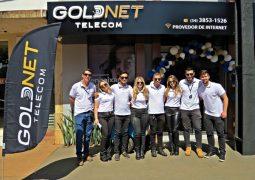 INTERNET 5G: GOLDNET TELECOM inaugura unidade em Tiros-MG