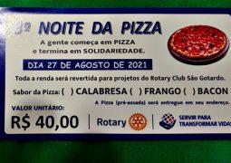 Rotary Club realiza 3ª Noite de Pizzas em São Gotardo