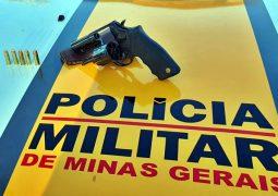 OPERAÇÃO ROTA SEGURA: PMR apreende arma na LMG-764 em Matutina-MG
