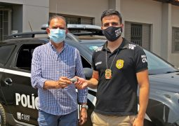 Polícia Civil de São Gotardo recebe viatura policial através de verba parlamentar