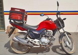PMR localiza moto furtada no distrito de Guarda dos Ferreiros e uma pessoa acaba presa
