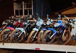 OPERAÇÃO PERTUBAÇÃO DE SOSSEGO: PM apreende 7 motocicletas com irregularidades em São Gotardo