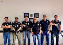 Policia Civil prende traficante com drogas e arma em São Gotardo