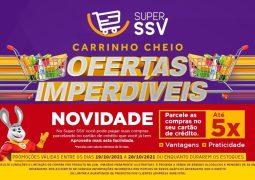 Com parcelamento no Cartão de Crédito em até 5 vezes, Super SSV lança novo Caderno de Ofertas em São Gotardo