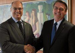 """Witzel nega acusações de Bolsonaro: """"Não está em seu estado normal"""""""