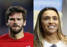 Marta e Alisson concorrem a melhores do mundo de 2019