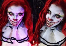 Jovem usa maquiagem artística e ganha fama com criações assustadoras