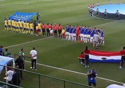 Paraguai vence as Ilhas Salomão, estreante em mundiais, por 7X0